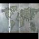 Wereldkaart Artnr. 1882822